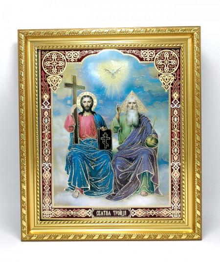 Icoana Treimea Psaltirii-Icoana Sfintei Treimi