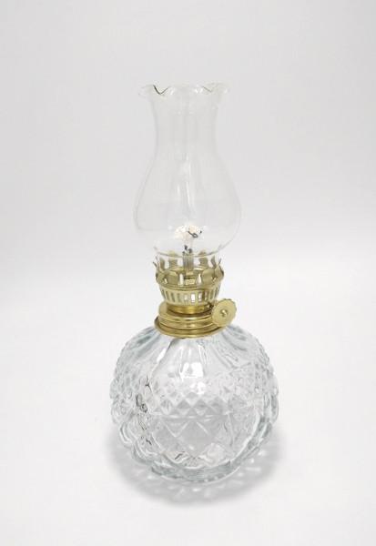 Lampa din sticla cu fitil si cilindru