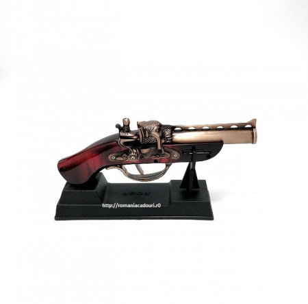 Ornament din metal si lemn – Flinta