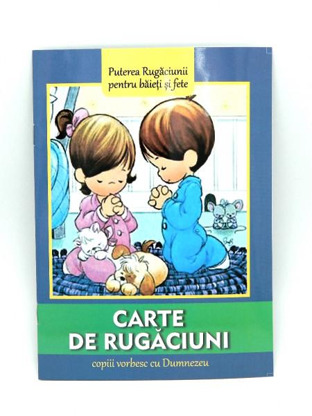 Carte de rugaciuni - copiii vorbesc cu Dumnezeu