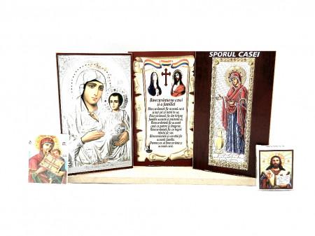 Set icoane cu Maica Domnului Binecuvantarea casei