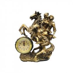 Bibelou din rasina Cuplu calare cu ceas
