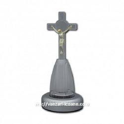 Cruce Ortodoxa din plastic cu led multicolor