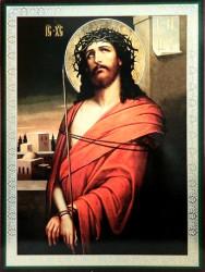 Icoana Iisus Hristos legat 18×15 cm