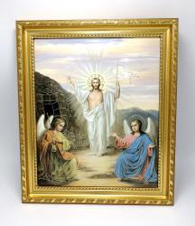 Icoana in rama Invierea Domnului