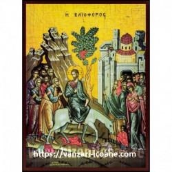 Icoana Intratea Domnului in Ierusalim