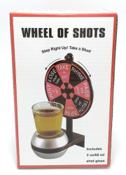 Ruleta cu pahar shot joc