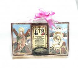 Set icoane cu Sfinti si Binecuvantarea casei si a familiei