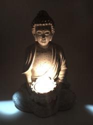 Suport pentru lumanari pastila Buddha