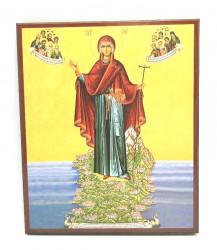 Icoana Gradina Maicii Domnului Muntele Athos
