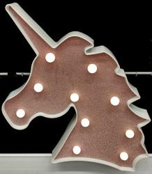 Lampa de veghe pentru copii cu  unicorn