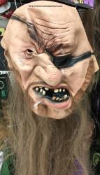 Masca din Latex halloween pirat cu un ochi