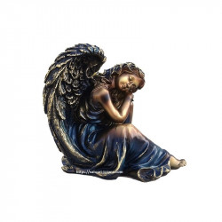 Statueta din rasina reprezentand un inger dormind