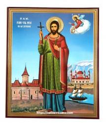 Icoana Sfântului Ioan cel Nou de la Suceava