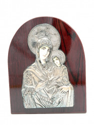 Icoana semirotunda Maica Domnului cu Pruncul