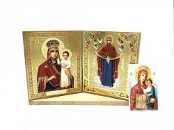 Set icoane sfintite Maica Domnului cu un cadou