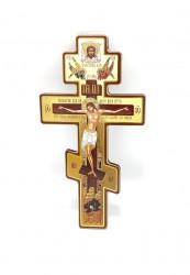 Cruce ortodoxă(numita si slavă) din lemn