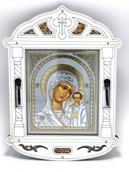 Icoana cu 2 sticlute de Mir si Tamaie Sfintite