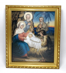Icoana in rama Nașterea Domnului Iisus Hristos