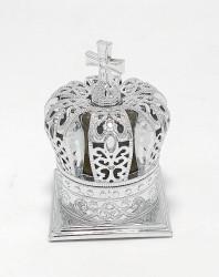 Mitra argintie cu Mir Sfintit Floarea Desertului Grecia