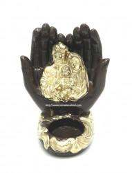 candela ceramica sfanta familie