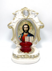 Candela din ipsos Iisus binecuvantand lumea