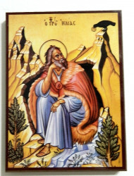 Icoana Ortodoxa Sfantul Prooroc Ilie Tesviteanul