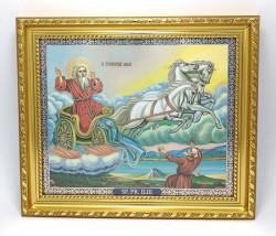 Icoana Sfântului Mare Proroc Ilie in rama