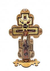 Cruce mare din lemn cu protectie plexic in fata