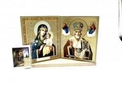 Set icoane sfintite Maica Domnului si Sfantul Nicolaie