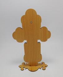Cruce mare din lemn cu protectie plexic  fata