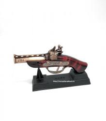 Ornament  realizat din metal si lemn – Flinta