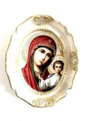Plachet ipsos icoana rotunda mare Maica Domnului
