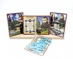 Set icoane Binecuvantarea casei cu Icoane Arsenie Boca si cadou