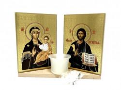 Candela sfintita Maica Domnului si Iisus