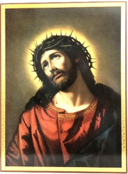 Icoana Iisus Hristos cu coroana de spini