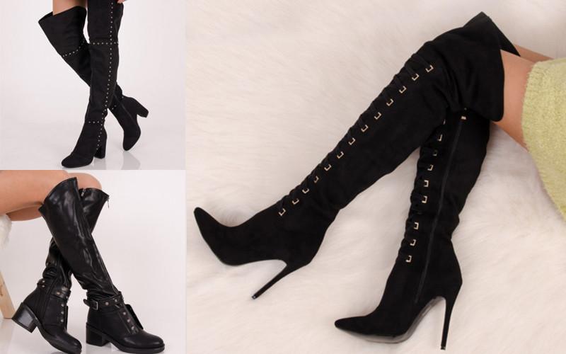 Cum sa porti cizmele peste genunchi cu stil