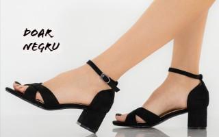 Ce sandale vom purta din 15 mai