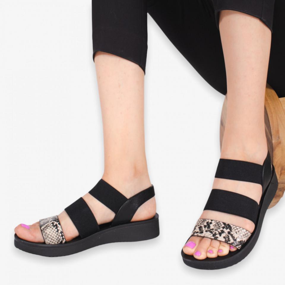 Sandale dama Abe bej