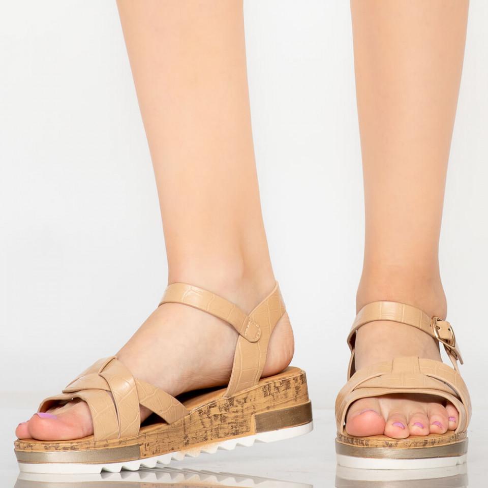 Sandale dama Gane bej