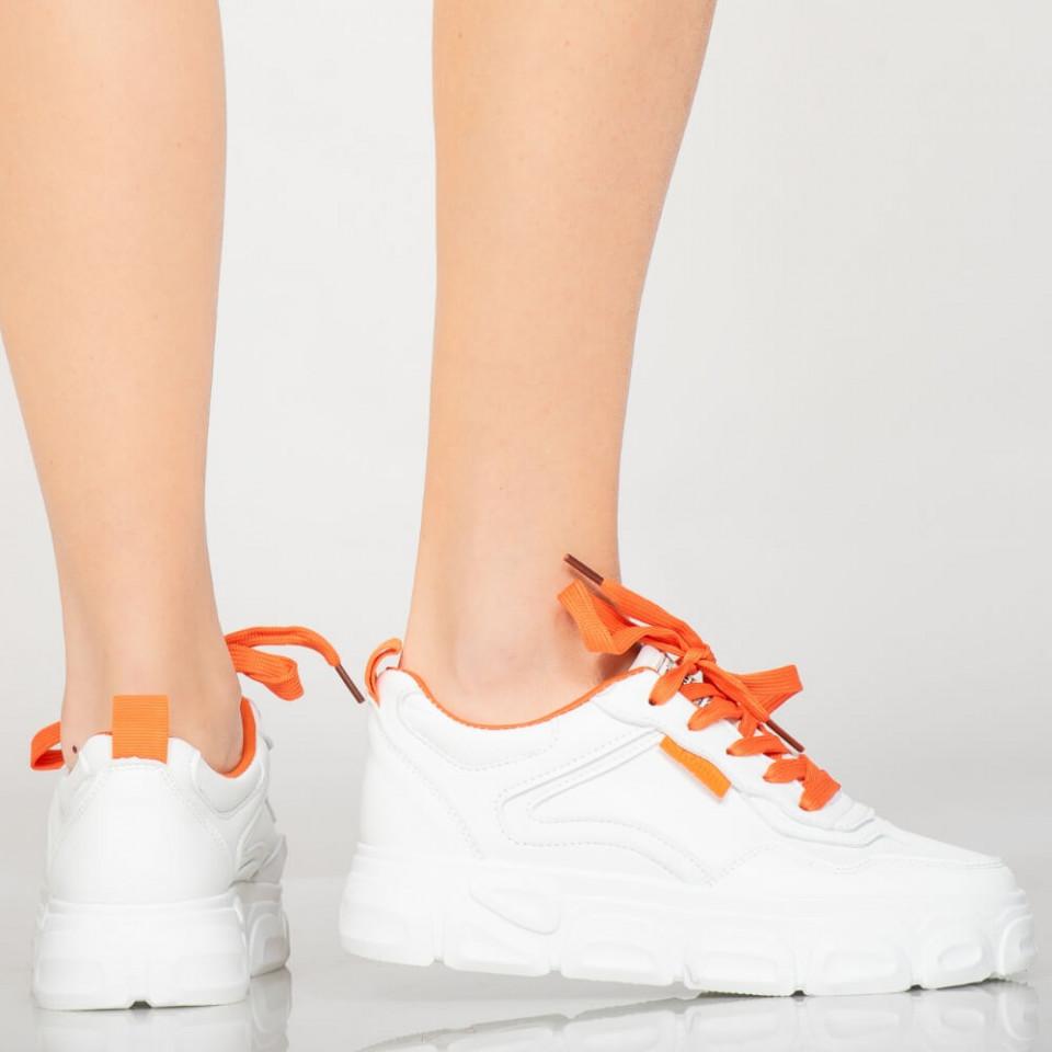 Adidasi dama Filo portocalii