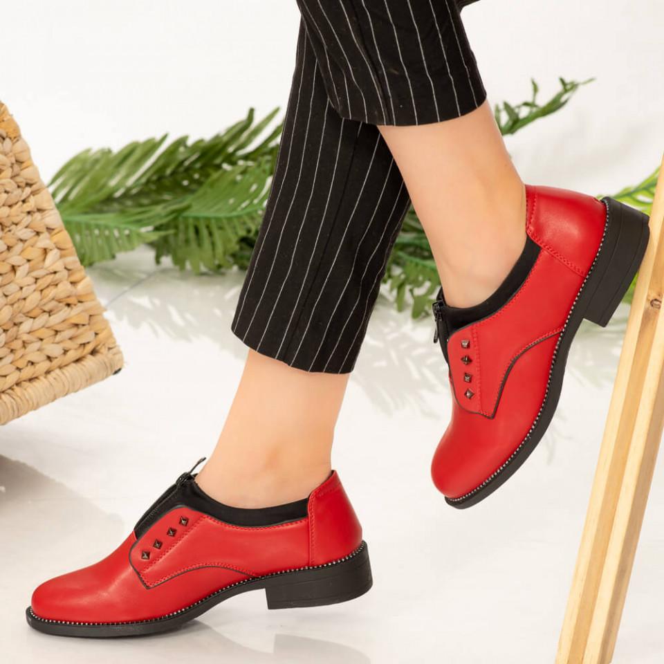 Pantofi dama Rye rosii