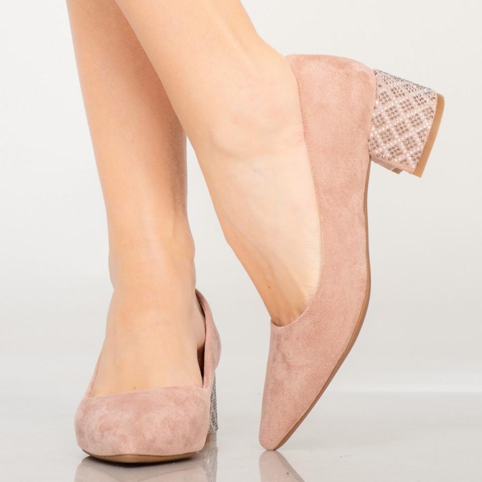 Pantofi dama Wine roz