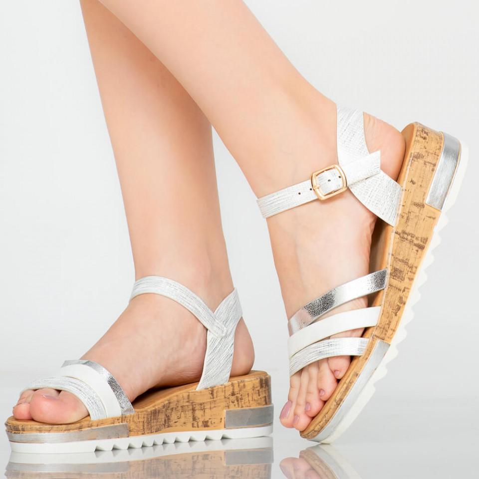 Platforme dama Bris albe