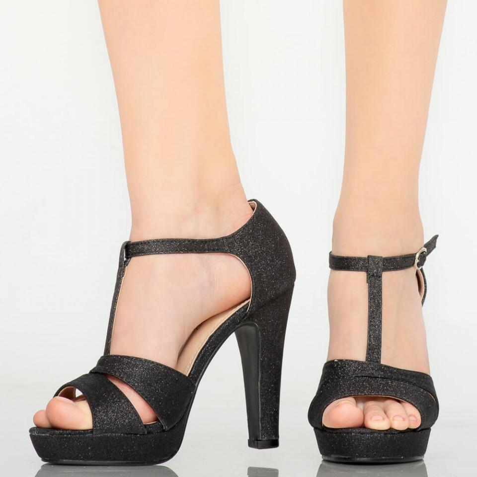 Sandale dama Mars negre