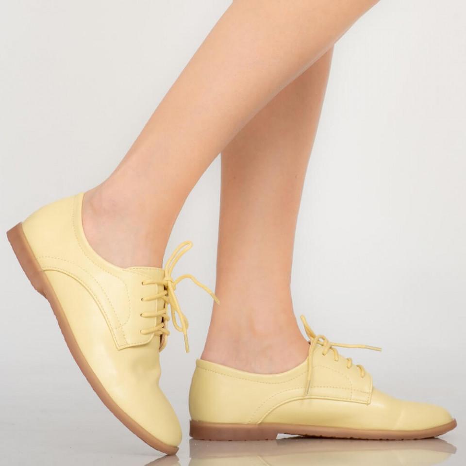 Pantofi casual Burn galbeni