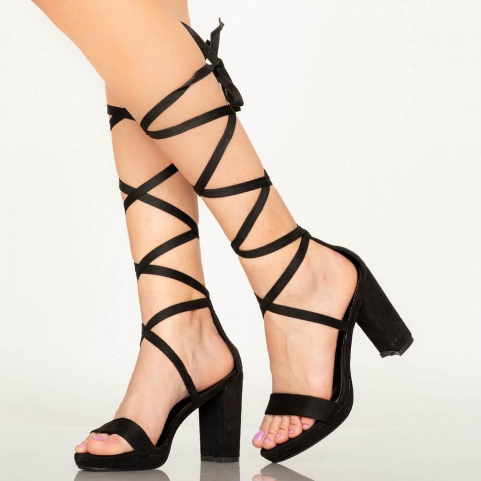 Sandale dama Oba negre