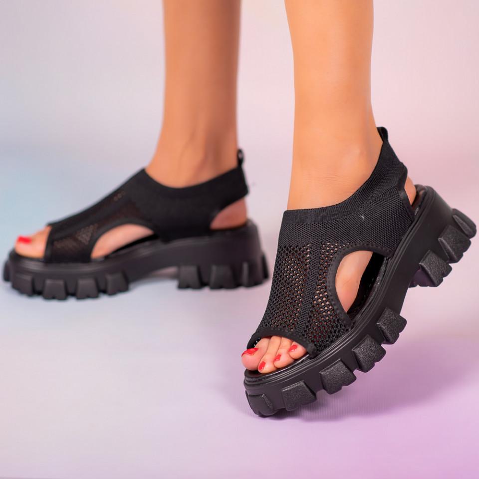Platforme dama Mani negre