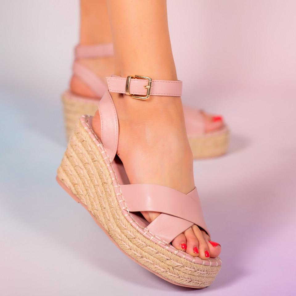 Platforme dama Moli roz