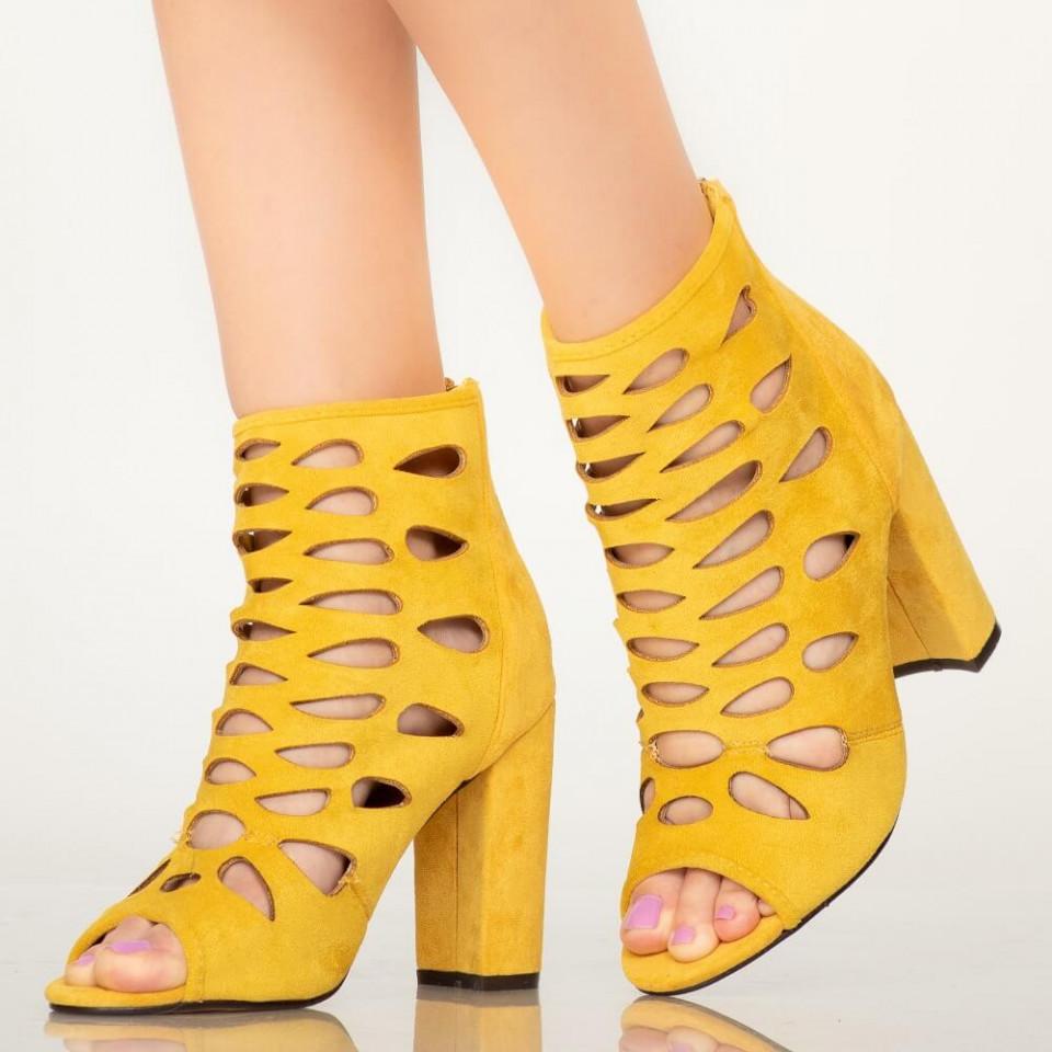 Sandale dama Airo galbene